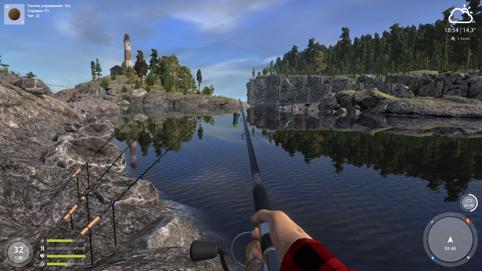 летняя рыбалка в башкирии